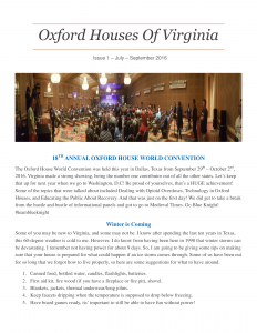 Newsletter #1 Page 1